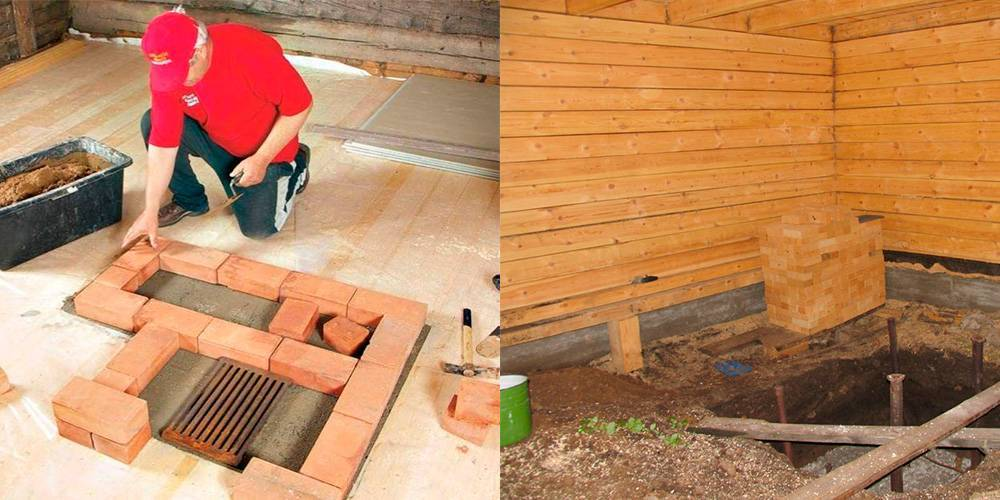 Фундамент под печь в бане - клуб мастеров