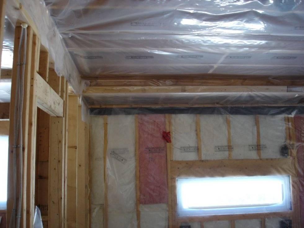 Нужна ли пароизоляция во внутренних перегородках каркасного дома