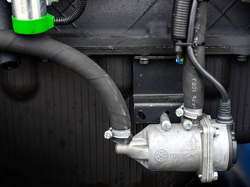 Предпусковой подогреватель двигателя для автомобиля
