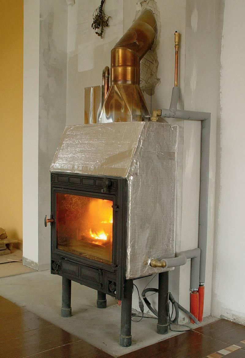 Печи с водяным контуром для отопления дома: какую выбрать, все варианты реализации