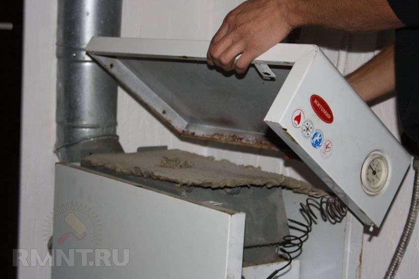 Как выполняется промывка теплообменника газового котла – чем лучше промыть и прочистить