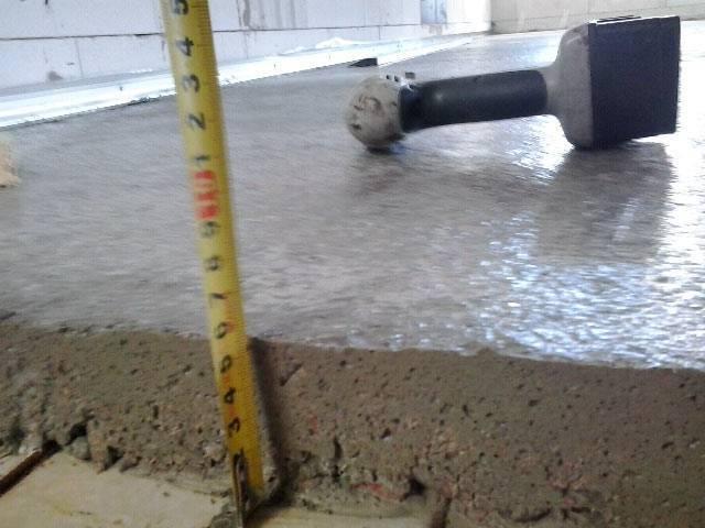 Как правильно залить стяжку для водяного теплого пола?