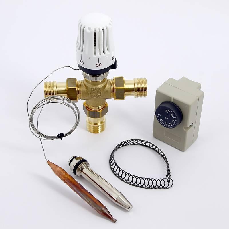 Как работает термоголовка для тёплого водяного пола?