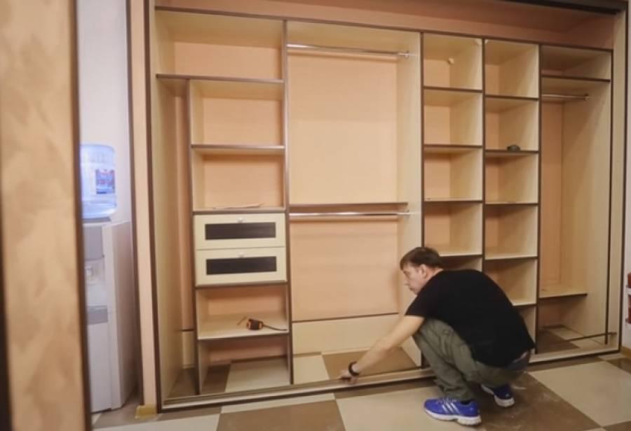 Шкаф-купе в прихожую своими руками (36 фото): как сделать чертежи