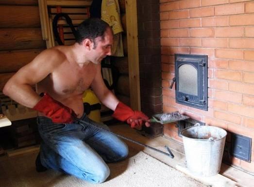 Чем покрасить кирпичную печь после штукатурки