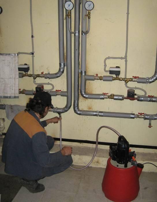 Опрессовка системы отопления своими руками: порядок действий, видео