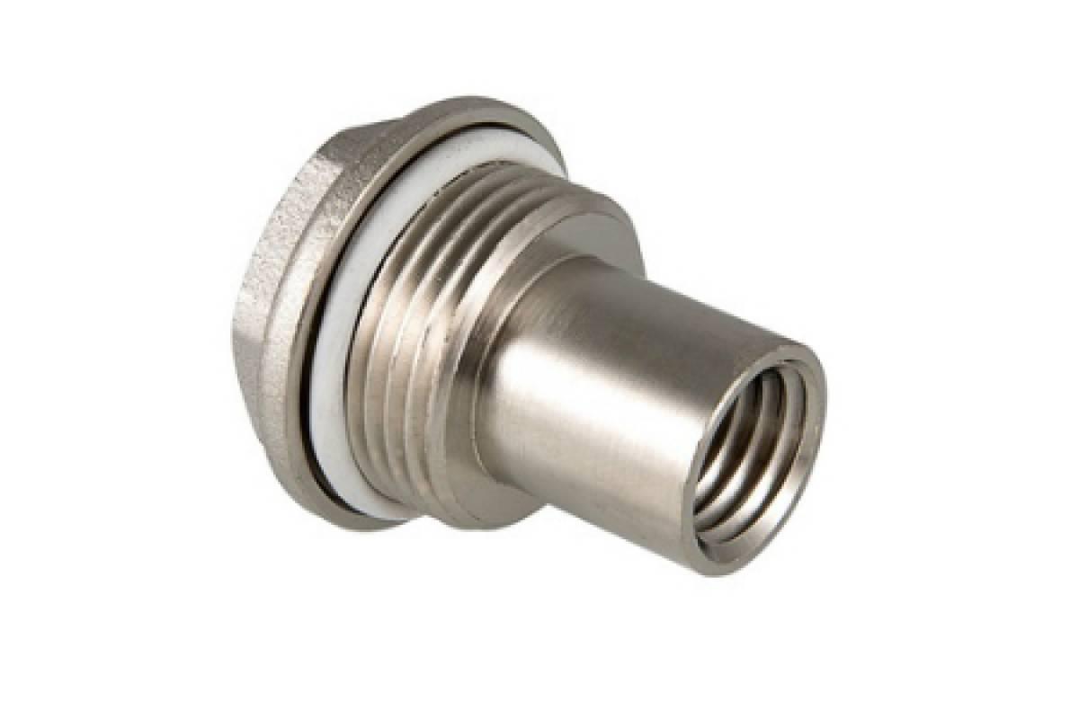 Удлинитель потока для биметаллического радиатора, заглушки, краны, ниппеля и другие комплектующие