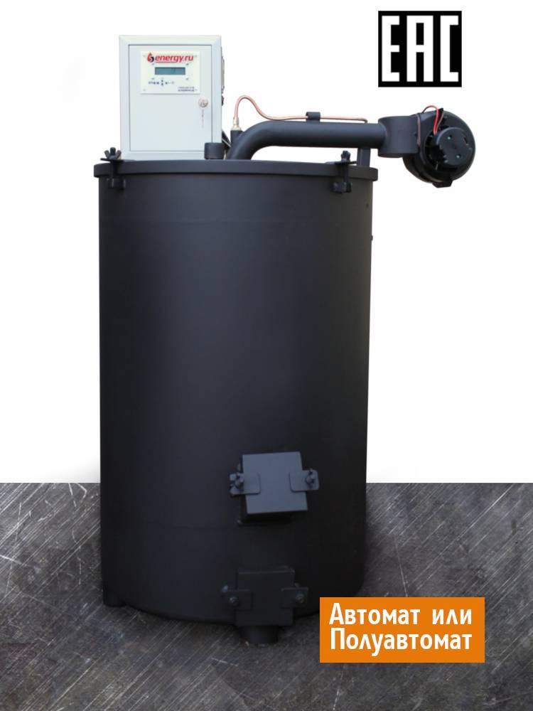 Устройство котлов на жидком топливе длительного горения