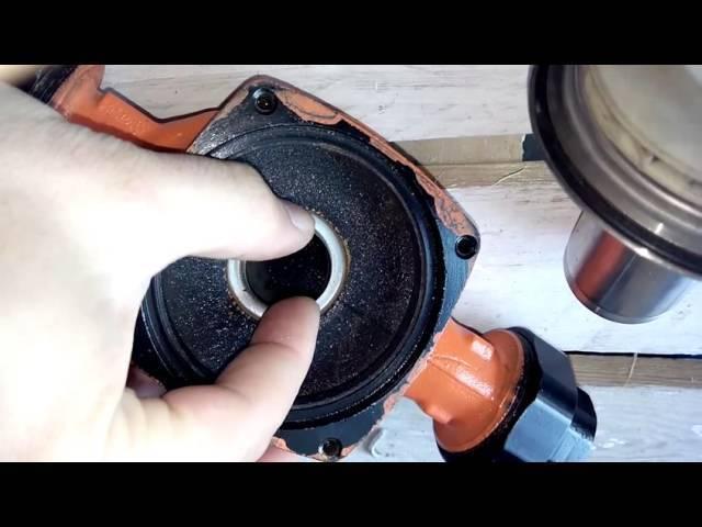 Насос циркуляционный для отопления: ремонт своими руками