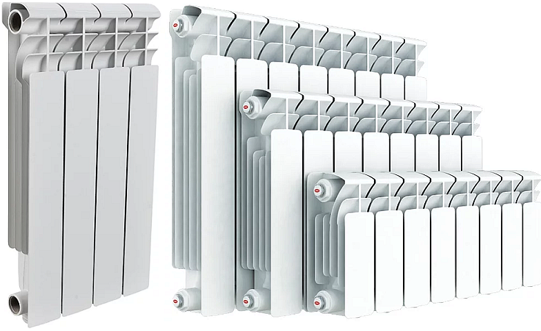 Алюминиевые или биметаллические радиаторы - что лучше выбрать, в чем разница - особенности и показатели конструкций, смотрите фотографии и видео