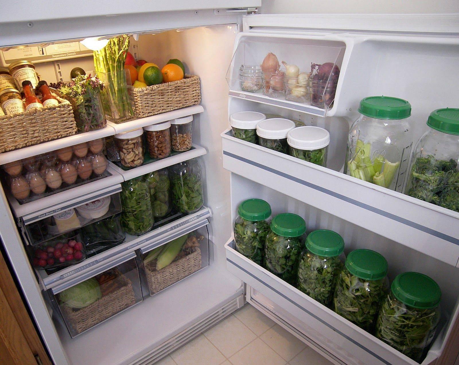 Как навести порядок в холодильнике