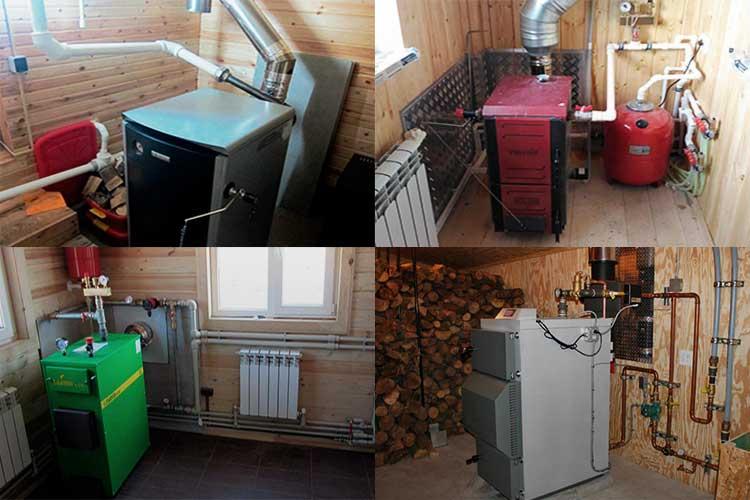 Расход угля на отопление дома - система отопления