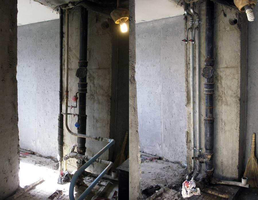Как поменять стояк отопления в квартире