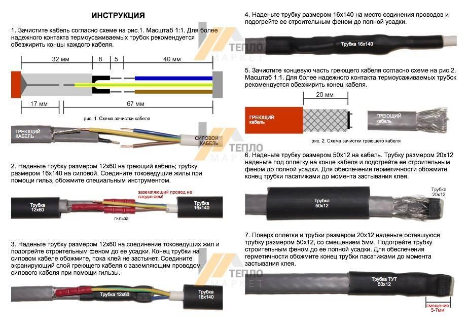 Как уложить кабельный теплый пол – выбор греющего кабеля, монтаж своими руками