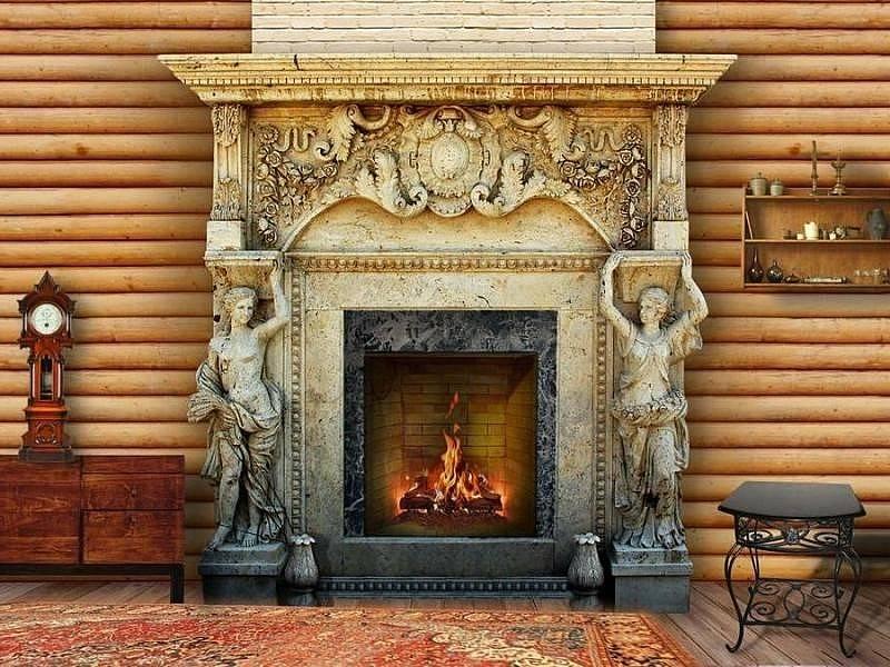 Как правильно выбрать портал для камина: варианты обрамления домашнего очага