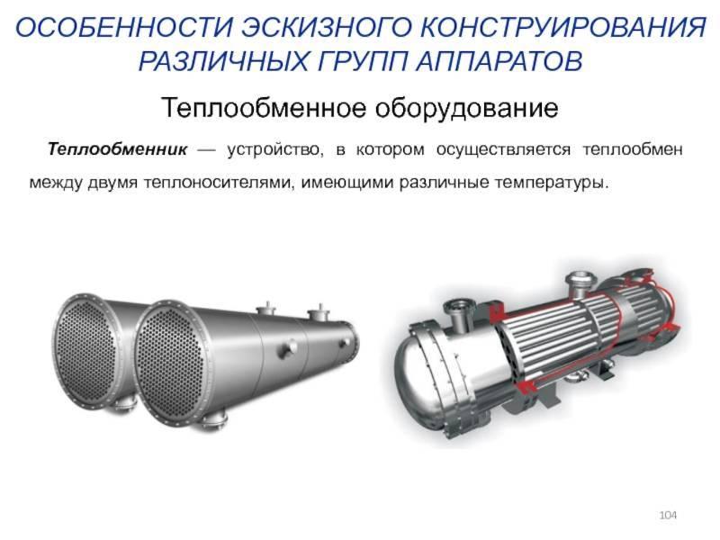 Расчет теплообменников, методика расчета теплообменников, тепловой расчет теплообменников