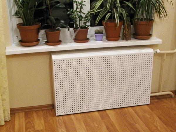 Декоративная решетка для радиатора отопления своими руками - отопление и водоснабжение от а до я