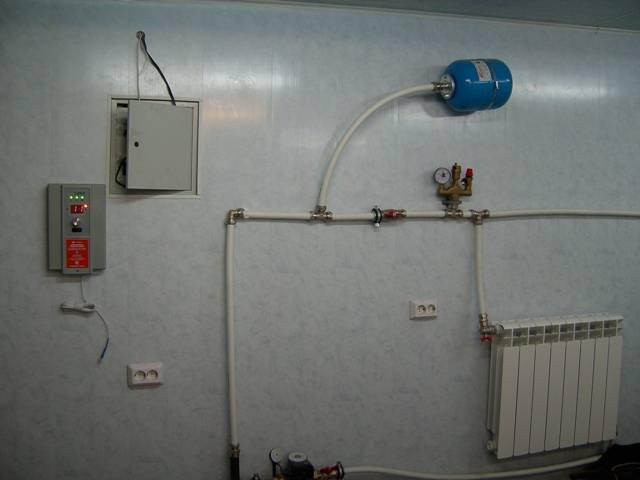Правильная схема отопления дачи своими руками