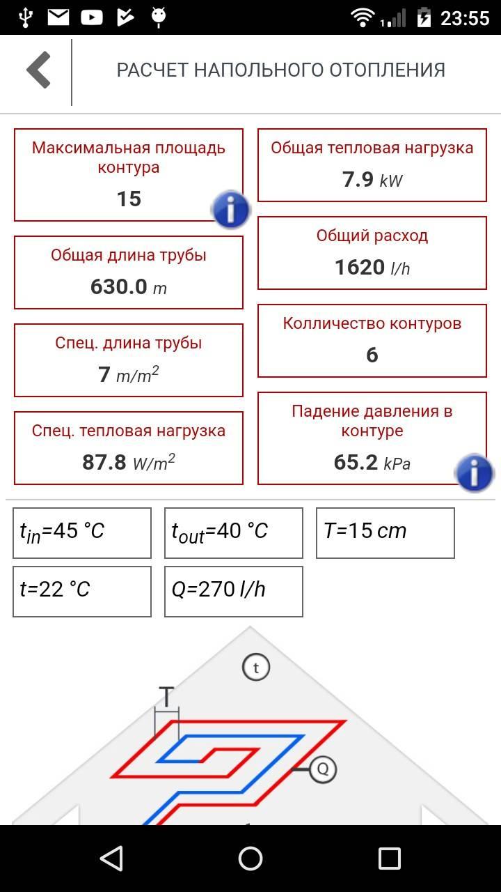 Расчет водяного теплого пола своими руками: калькулятор, как рассчитать, видео-инструкция, фото