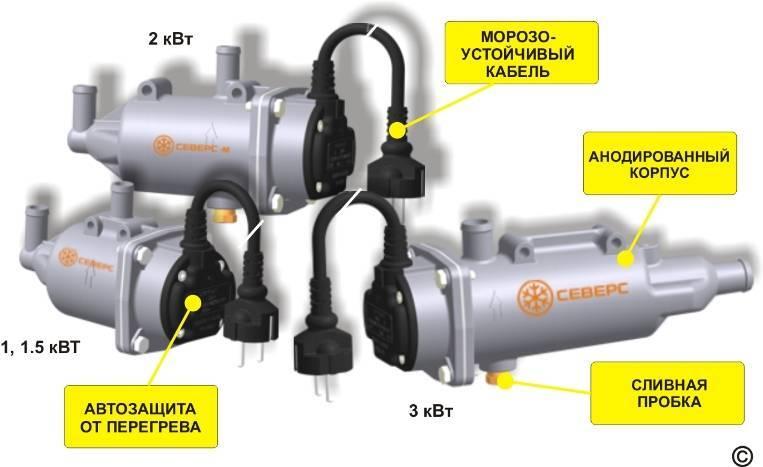 Предпусковой подогреватель двигателя: 220в или автономный подогрев - какой выбрать и как установить