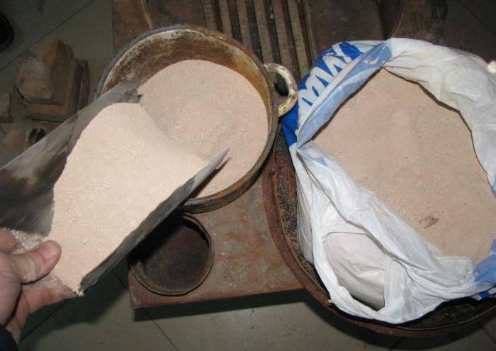 Чем замазать печь, чтобы она не трескалась от жара