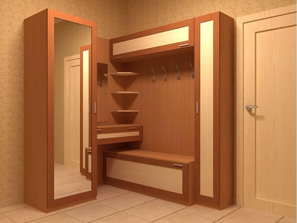 Мебель в маленькую прихожую, варианты комплектации, виды, расстановка