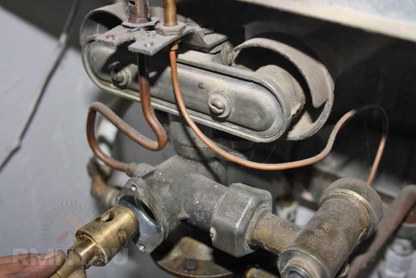 Ремонт газовой колонки своими руками. неисправности газовой колонки