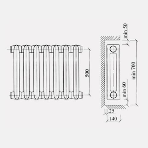 Вспомогательный обзор чугунных радиаторов отопления