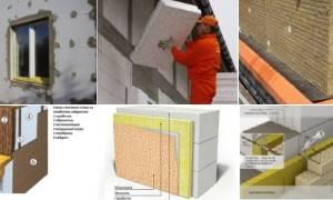 Утепление дома из газобетона снаружи: стен, отзывы