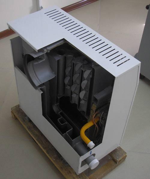 Парапетный газовый котел: одноконтурный и двухконтурный, использование в системе отопления