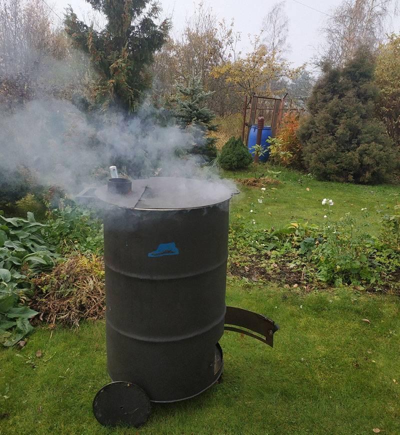 Печь из кирпича для сжигания мусора: пошаговая инструкция - из кирпича