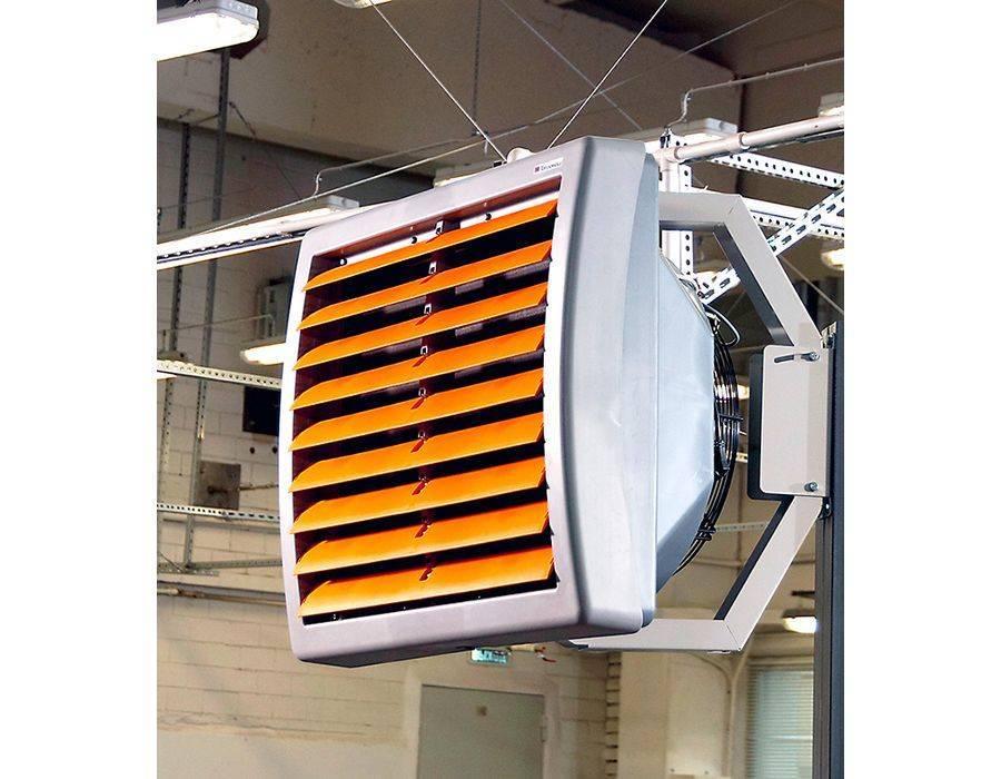 Водяной тепловентилятор: устройство, виды, производители