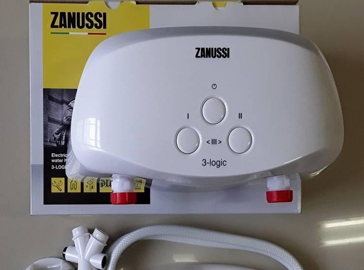 Модели водонагревателей Занусси — накопительные и проточные
