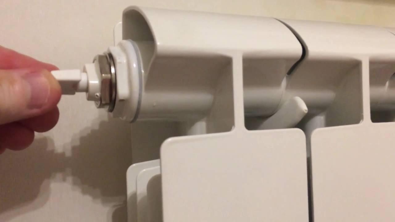 Как спустить воздух с системы отопления: как стравить пробку, применение кранов для частного дома