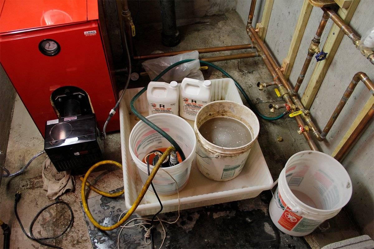 Антифриз, применения антифризов, типы и составы антифризов, водяное отопление