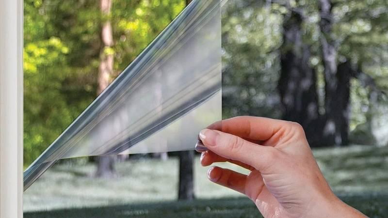 Пленка для пластиковых окон. как используется теплосберегающая пленка для окон – плюсы и минусы применения