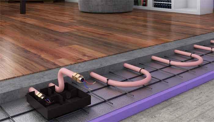Регулировка водяного теплого пола устройства, функции и установка
