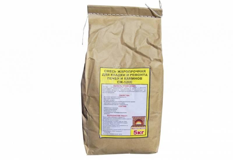 Сухая смесь для кладки печей и каминов, характеристики смесей, способы подготовки и нанесения