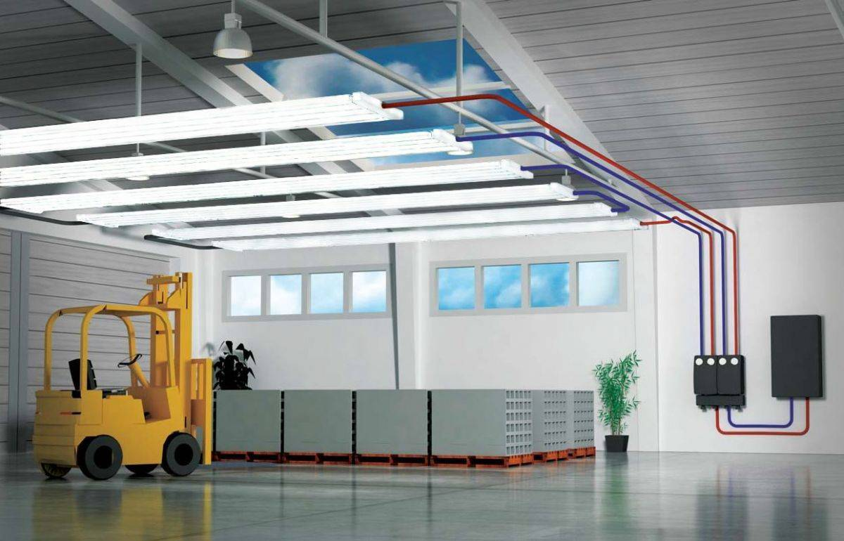 Отопление производственных помещений: что лучше, необычные радиаторы и виды систем