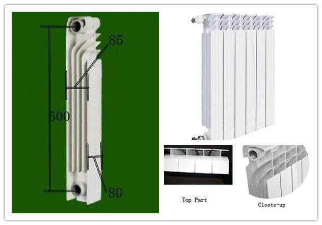 Отличия биметаллических радиаторов от алюминиевых   в чем разница