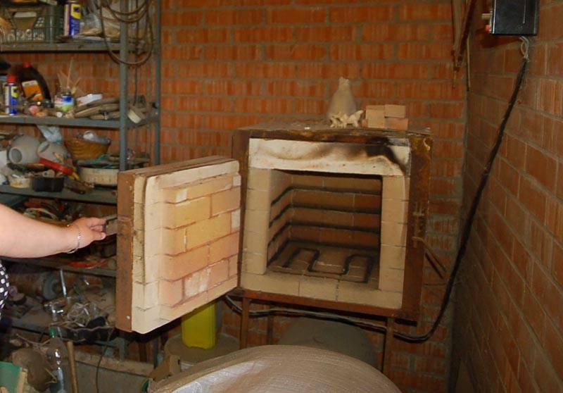 Печь для обжига керамики своими руками: газовая и дровяная