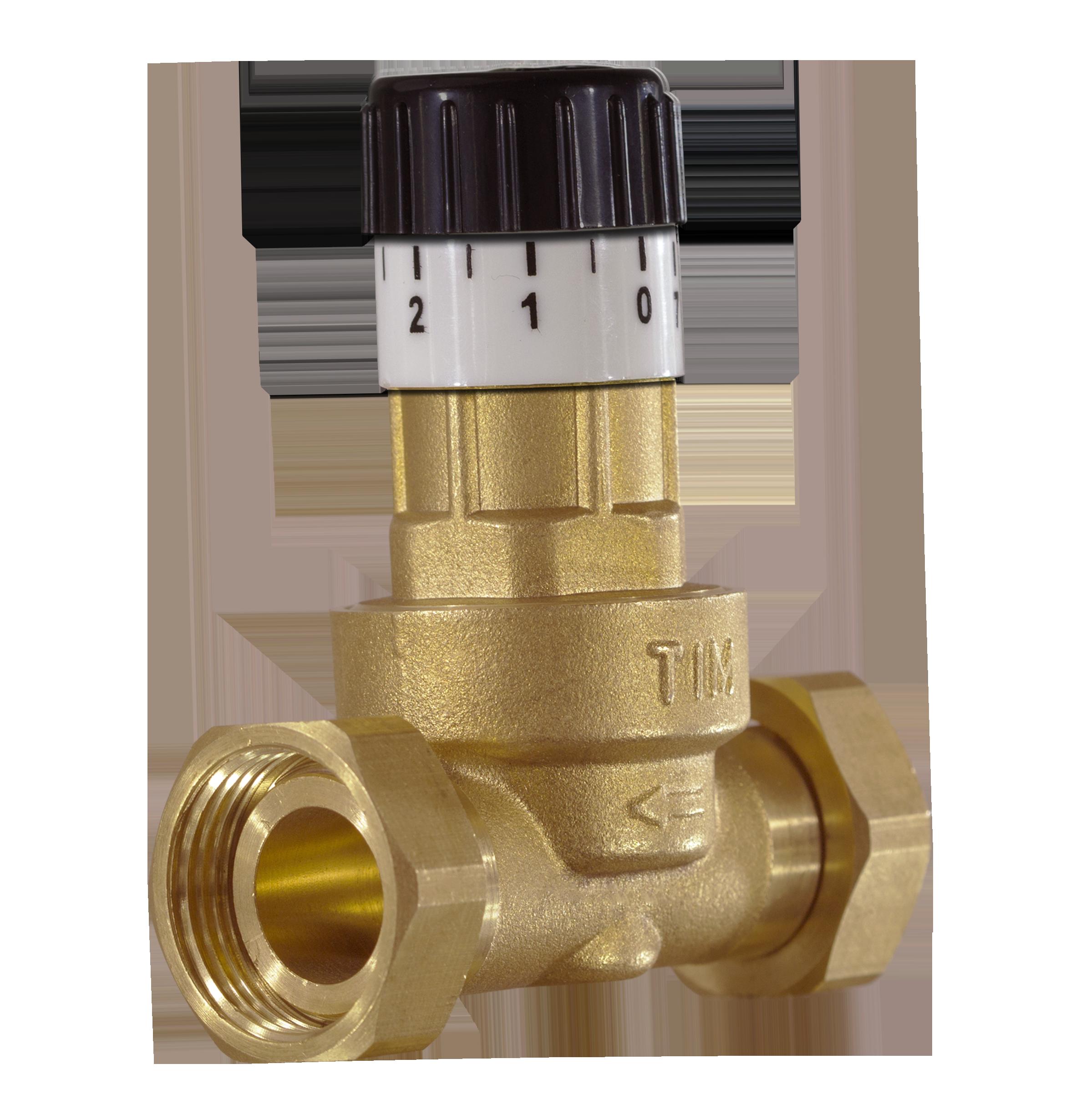 Предохранительный клапан в системе отопления: сбросной и аварийный