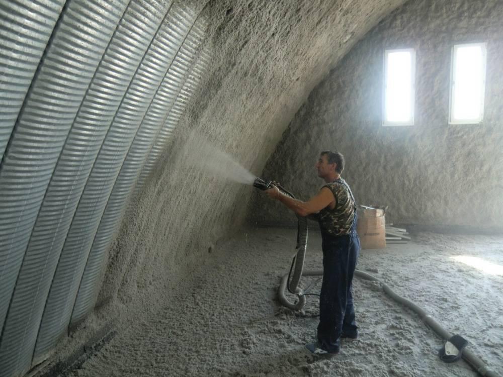 Быстровозводимые арочные бескаркасные ангары: как построить и утеплить