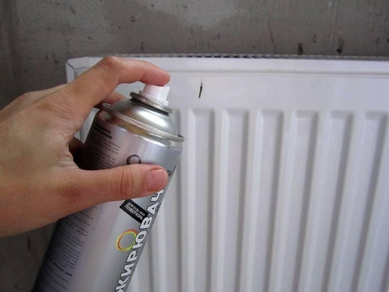 Покраска батарей отопления своими руками