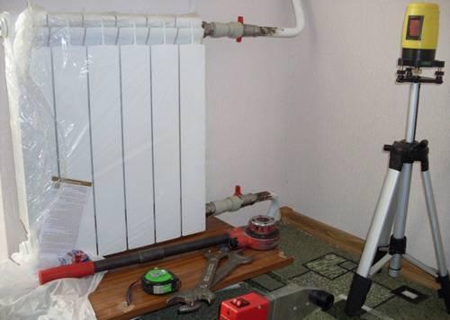 Как разобрать биметаллический радиатор отопления своими руками: пошаговая инструкция