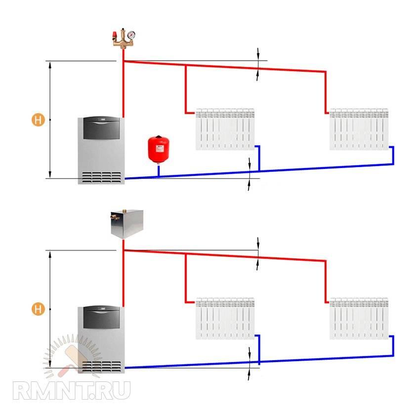 Схема электрического отопления частного дома - tokzamer.ru