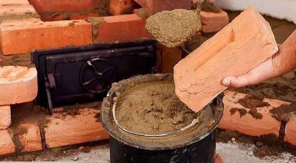 Состав раствора для кладки печи - технология приготовления. жми!