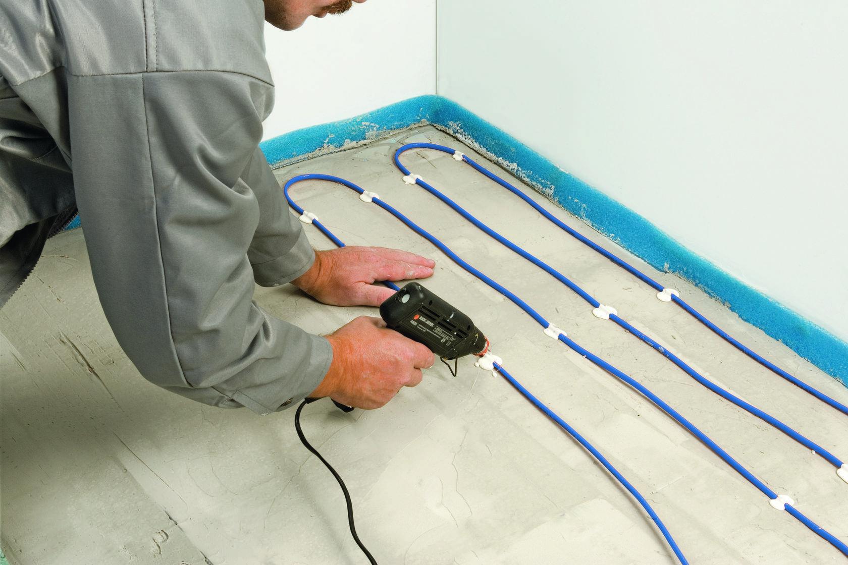 Как правильно сделать укладку керамической плитки на теплый пол?