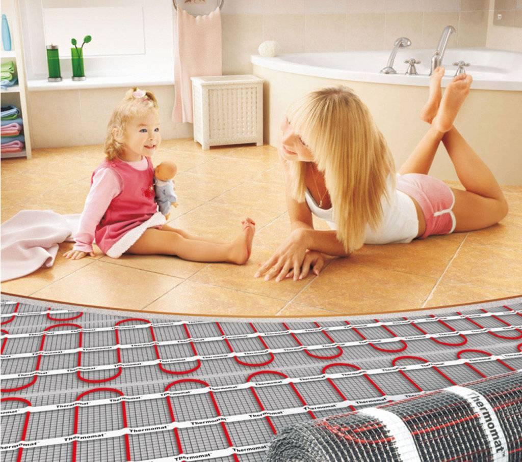 Как выбрать теплый пол электрический и какой лучше для дома