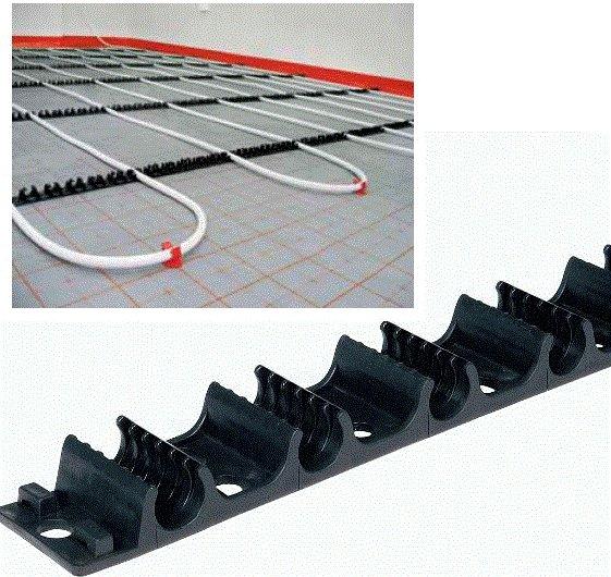 Укладка труб теплого пола: монтаж + как выбрать шаг и сделать менее затратный контур